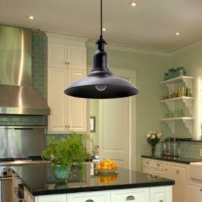 Catalina Lighting Bronze Finish Steel Pendant Lamp