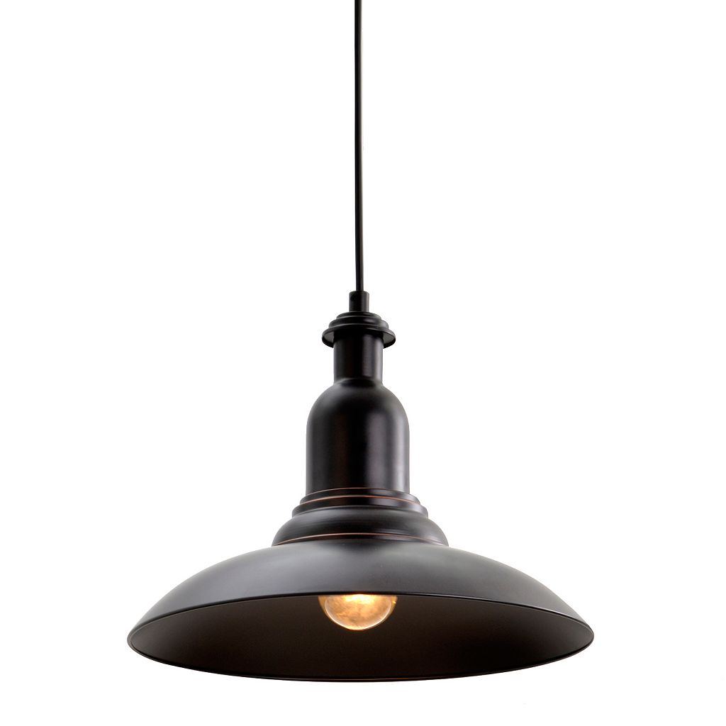 Catalina Lighting Bronze Finish Steel Pendant Lamp