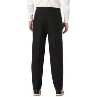 Men's Savane Active Flex Tailored-Fit Stretch Flat-Front Dress Pants