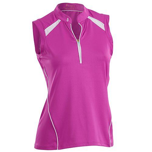 Women's Nancy Lopez Sporty Sleeveless Golf Polo