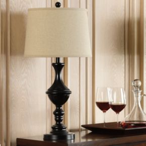 Catalina Lighting Bronze Finish Trophy Table Lamp 2-piece Set