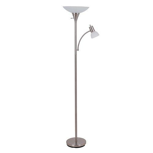 Catalina Lighting 2-Light Torchiere Floor Lamp