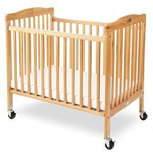 Little Wood Portable Folding Crib by LA Baby