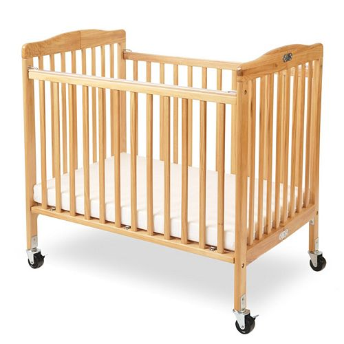 Little Wood Portable Folding Crib by LA Baby
