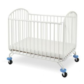 Folding Arched Portable Crib by LA Baby