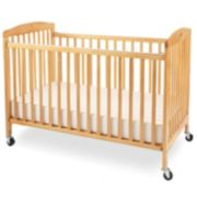 Full Size Wood Folding Crib by LA Baby
