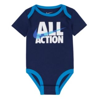 """Baby Boy Nike """"All Action"""" Graphic Bodysuit"""