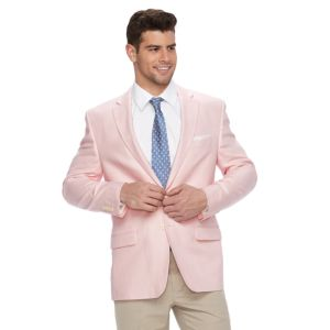 Men's Chaps Classic-Fit Linen-Blend Sport Coat