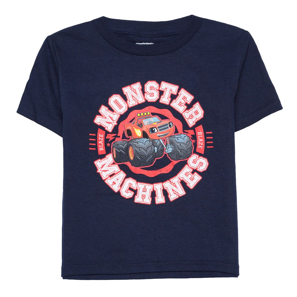 Toddler Boy Blaze and the Monster Machines Navy Graphic Tee
