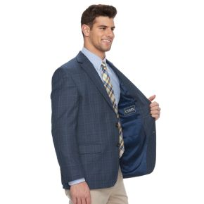 Men's Chaps Patterned Classic-Fit Sport Coat
