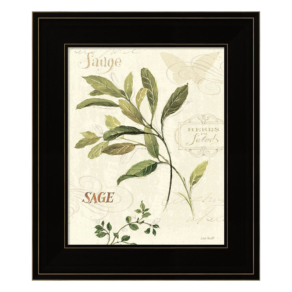 Aromatique IV Framed Wall Art