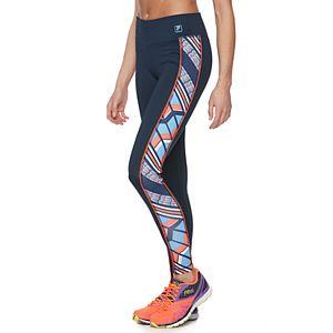 Women's FILA SPORT® Chevron Panel Performance Leggings