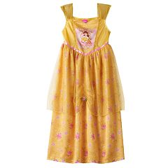 Disney Princess Belle Girls 4-8 Fantasy Nightgown