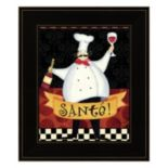 Bon Appetit III Framed Wall Art