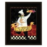 Bon Appetit IV Framed Wall Art