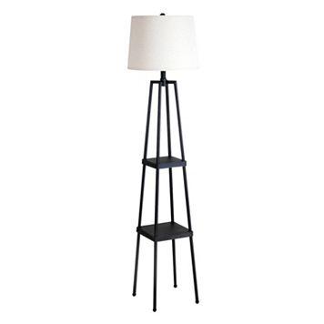 Catalina Lighting 2-Shelf Floor Lamp
