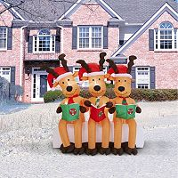 Reindeer Inflatable Lawn Decor