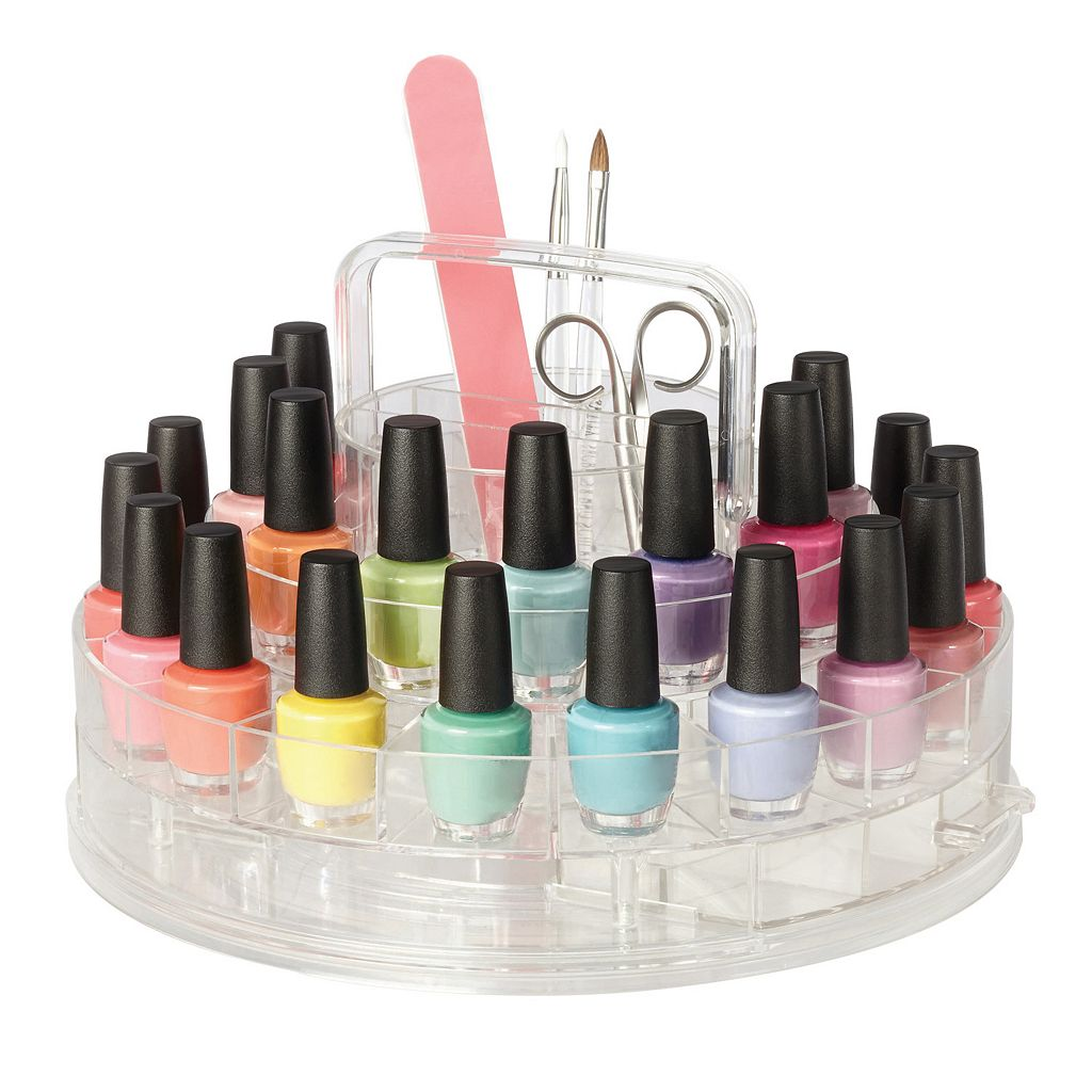 Richards Clearly Chic Nail Boutique Organizer