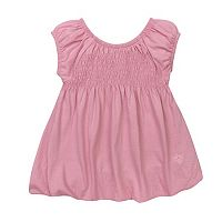 Toddler Girl Burt's Bees Baby Smocked Bubble Dress