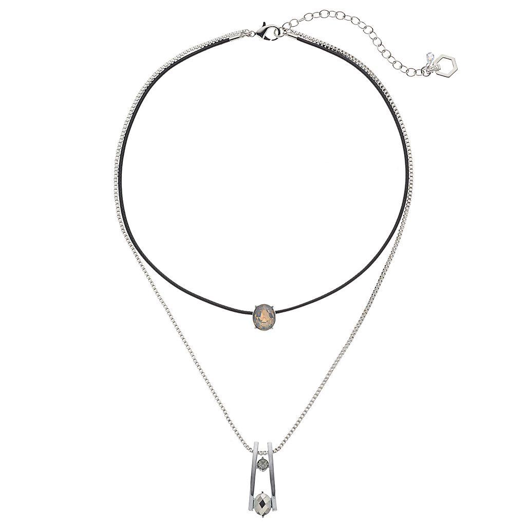 Simply Vera Vera Wang Layered Pendant Necklace