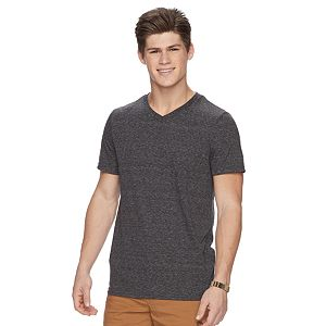 Men's Urban Pipeline? Ultimate Triblend Striped V-Neck Tee