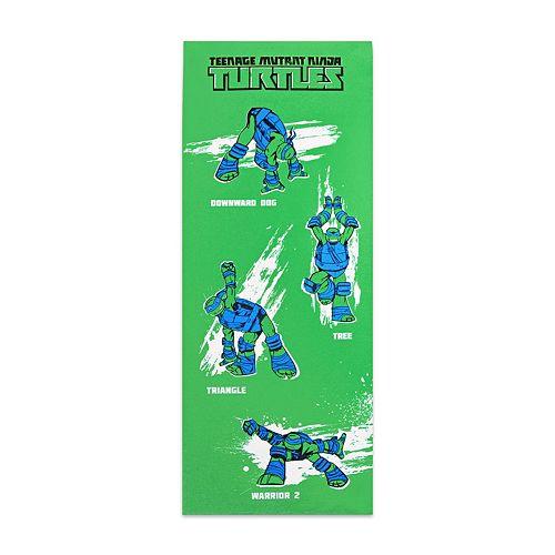 Teenage Mutant Ninja Turtles Retro Leonardo Yoga Mat