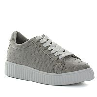 Seven7 C-Brown Women's Platform Sneakers