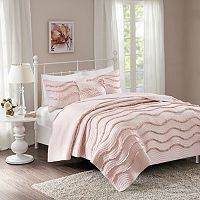 Madison Park 4-piece Helene Coverlet Set