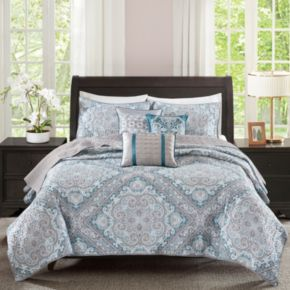 Madison Park 6-piece Florence Coverlet Set