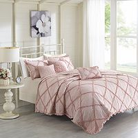 Madison Park 6-piece Wendy Coverlet Set