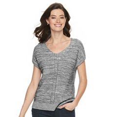 Women's Croft & Barrow® Ribbed Dolman Sweater