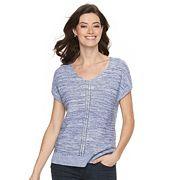 Women's Croft & Barrow® Ribbed Dolman Sweater