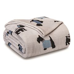 Cozy Nights Microfleece Reversible Blanket