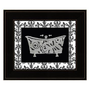 Paris Hotel Tub IV Framed Wall Art