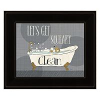 Squeaky Clean I Framed Wall Art