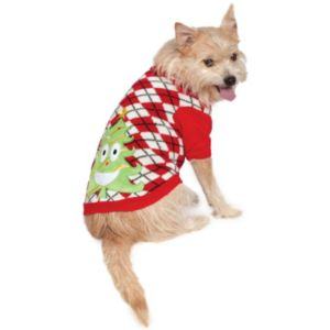 Pet Ugly Christmas Sweater with Trees Costume