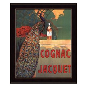 Cognac Jacquet Framed Wall Art