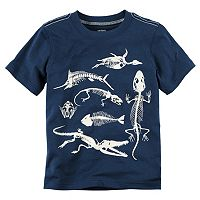 Boys 4-8 Carter's Dinosaur Skelton Graphic Tee