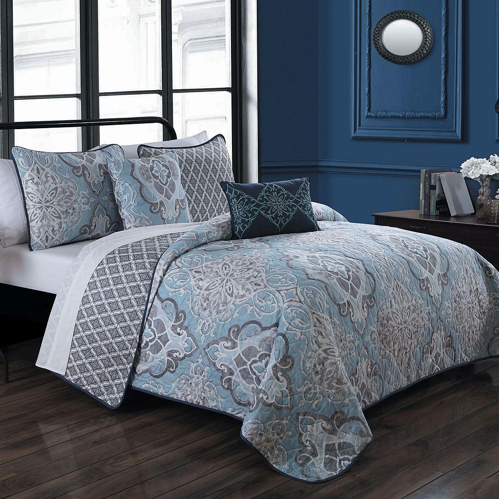 Avondale Manor 5-piece Portofino Quilt Set
