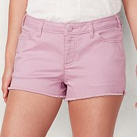 Women's LC Lauren Conrad Frayed Jean Shorts