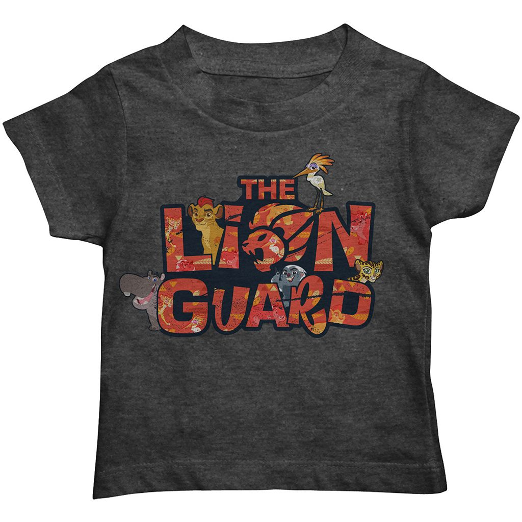 Disney's The Lion Guard Toddler Boy Text Character Graphic Tee
