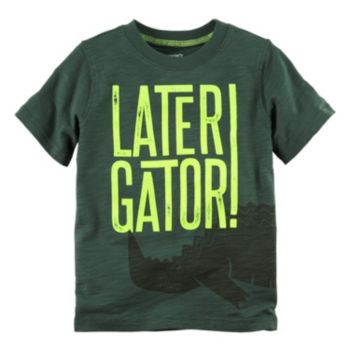 "Boys 4-8 Carter's ""Later Gator"" Graphic Tee"
