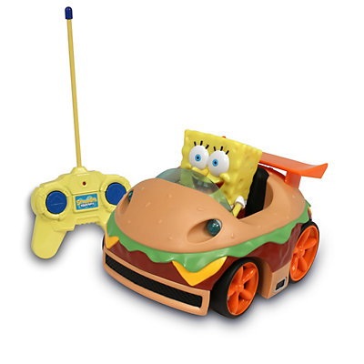 SpongeBob SquarePants Radio Control Krabby Patty Vehicle by NKOK