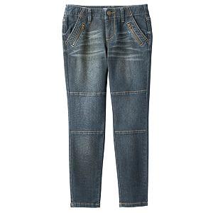 Girls 7-16 Mudd® Utility Skinny Ankle Jeans