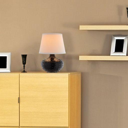 Catalina Lighting Textured Ceramic Table Lamp
