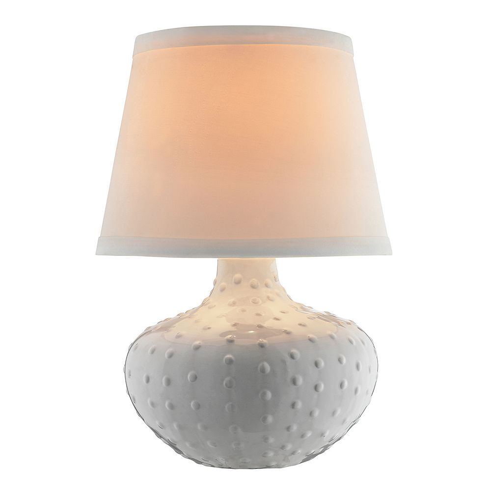 Catalina Lighting Textured Ceramic Table Lamp