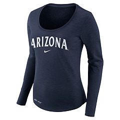 Women's Nike Arizona Wildcats Slubbed Dri-FIT Tee
