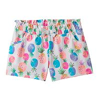 Girls 4-10 Jumping Beans® Colorful Pattern Shorts