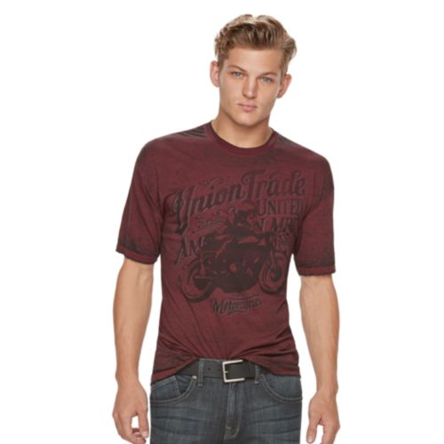 Men's Rock & Republic Union Trade Motorcycles Tee
