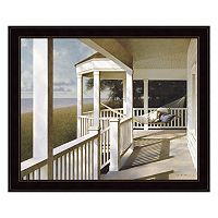 Porch Swing 2 Framed Wall Art